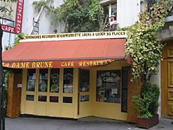 restaurant, paris 11, la dame brune cuisine instinctive et ... - Cours De Cuisine Paris 11